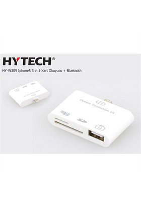 Hytech Hy-W309 Iphone5 3 İn 1 Kart Okuyucu