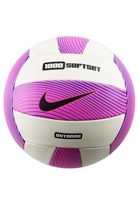 Nike 1000 Dikişli 5 No Voleybol Topu Fuşya Beyaz