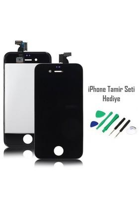 iPhone 4s Siyah Ekran Lcd Tamir Seti Hediyeli