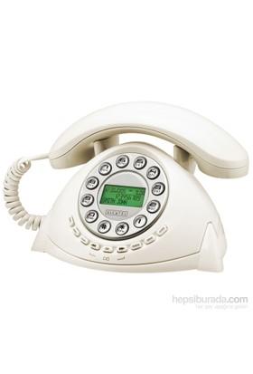 Alcatel Retro Cid Masa Telefonu Beyaz