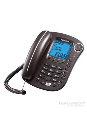 Alfacom 460 Cid. Masa Telefonu Siyah