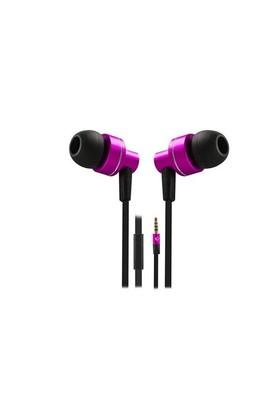 Snopy Rampage Phoenix Mikrofonlu Kulaklık Pembe Mobil Telefon Uyumlu Kulak İçi