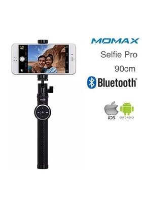 Momax Selfie Pro Bluetooth Selfie Çubuğu 90 cm Siyah