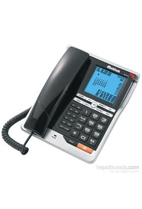 Multitek MC 210 Cid. Masa Telefonu Siyah