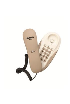 Multitek MD 50 Duvar Telefonu Krem