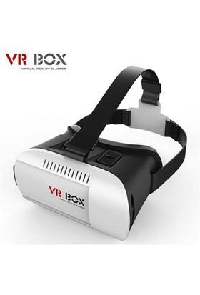 Techmaster 3D Vr Box Sanal Gerçeklik Gözlüğü Vr Gözlük + Bt Joystick