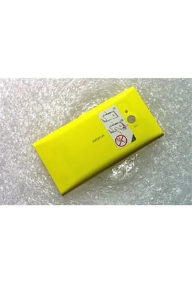 Teleplus Nokia Lumia 735 Arka Pil Batarya Kapak Sarı