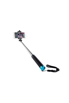 Addison Ad-S32 Kablolu Siyah/Mavi Selfie Çekim Çubuğu