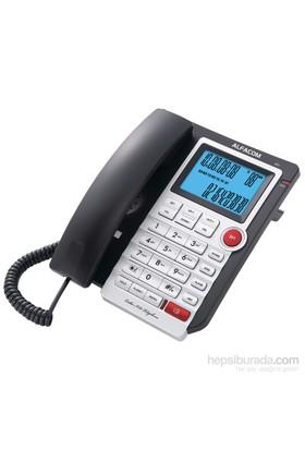 Alfacom 571 Cid. Masa Telefonu Siyah Gümüş