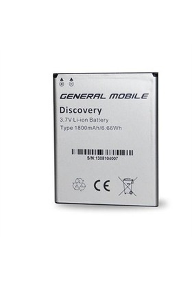 General Mobile Discovery Iı Mini Pil 1800 Mah Kutusuz