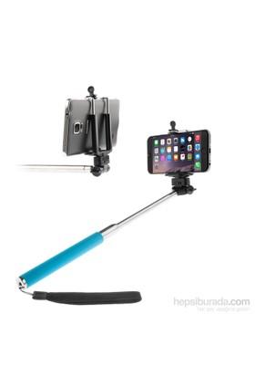 Mobile World Periscope / Selfie Çubuğu Mavi