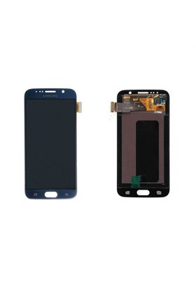Samsung Galaxy S6 Lcd Ekran Dokunmatik Panel Siyah