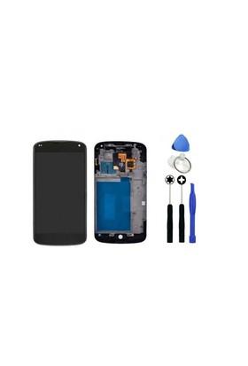 Lg Nexus 4 Dokunmatik Lcd Ekran + Sökme Aparatı