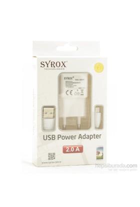 Techmaster Samsung Galaxy S2 Syrox 2 Amper Şarj Cihazı