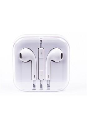 Cepium Apple iPhone 6 Plus/6/5/5s/5c/4/4s/3gs/3g Kulak İçi Kulaklık Beyaz - TR- 48139