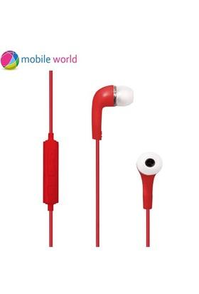 Mobile World J5 Kulakiçi Kulaklık Kırmızı - IM8492
