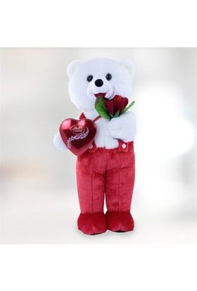 Sevgiliye Hediye Romantik Peluş Tatlı Kalp
