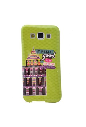 Teleplus Samsung Galaxy A7 Desenli Silikon Kılıf Good