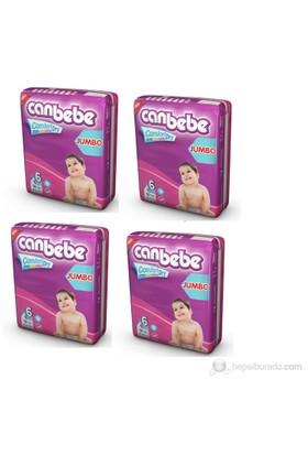 Canbebe Bebek Bezi Jumbo 4'lü Paket 6 Beden 144 Adet