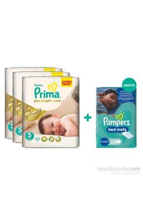 Prima Bebek Bezi Premium Care Mega 3'lü Paket 5 Beden 138 Adet