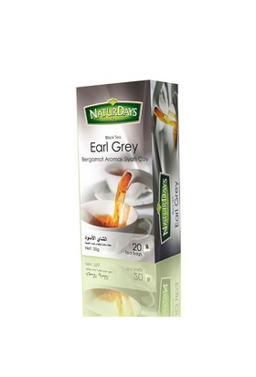 Naturdays 20'Li Earl Grey