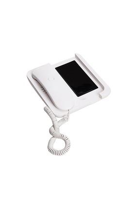 Balvı Blv24959 Retro Telefon Ahizesi Standlı Beyaz