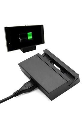 Markacase Xperıa Z3 Manyetik Dock Ve Mini Adaptör Şarj Seti