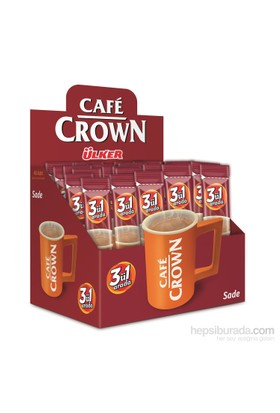 Cafe Crown 3ü1 Sade 13 gram 40'lı