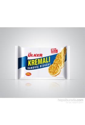 Ülker Kremalı Sandviç Bisküvi 10x61 gr