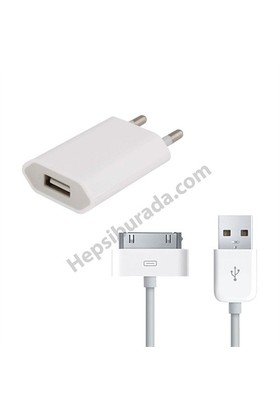 Fonemax Apple İphone 4-4S Şarj Seti