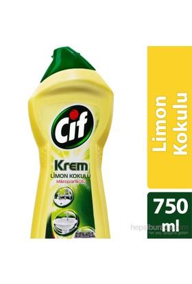 Cif Krem Temizleyici Limon Kokulu 750 ML