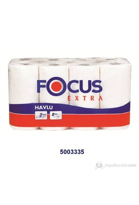 Focus Extra Rulo Havlu 8 'li x 3 Paket