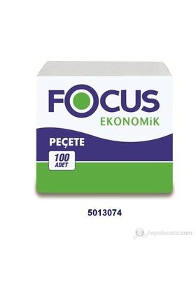 Focus Ekonomik Peçete (24,5 x 26,5 cm) - 100 'lü x 32 Paket