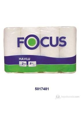 Focus Rulo Havlu 8 'li - 8 'li X 3 Paket kk
