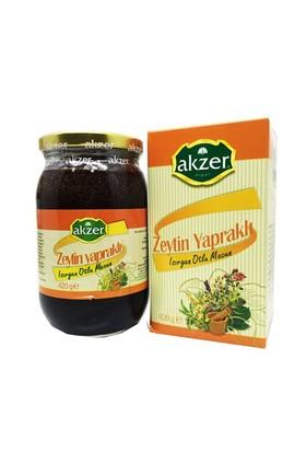 Akzer Zeytin Yapraklı Bitkisel Macun 420 Gr