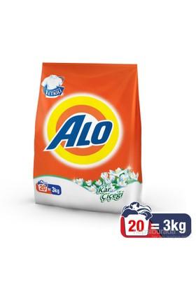 Alo Toz Çamaşır Deterjanı Kar Çiçeği 3 kg kk