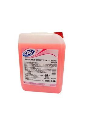 Bayer Kimya Oxy Parfümlü Yüzey Temizleyici Yoğun Pembe 5 Kg