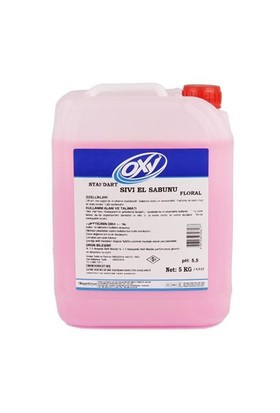Bayer Kimya Oxy Sıvı El Sabunu Floral 5 Kg