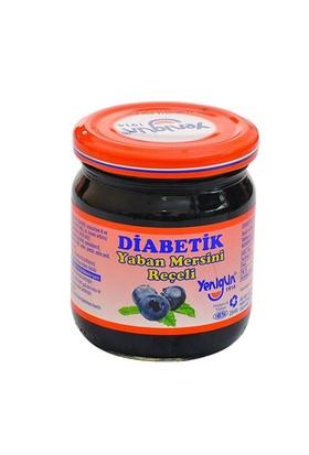 Yenigün Yaban Mersini Reçeli Diabetik, 250 Gr