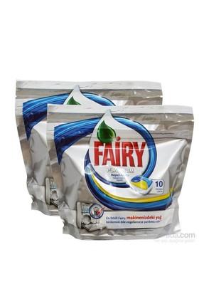 Fairy Bulaşık Tableti Platinum 2X10 Yıkama