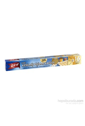 KullanAtMarket Roll-Up Kesilmiş Yağlı Pişirme Kağıdı 1 Adet