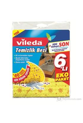 Vileda Temizlik Bezi 6lı Eko Paketi