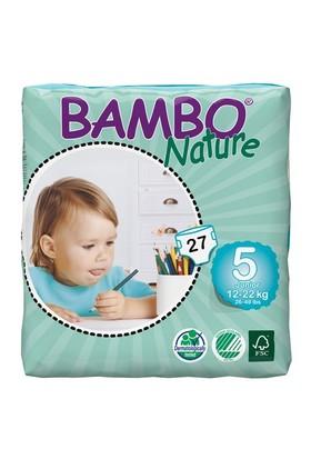 Bambo Nature Bebek Bezi 5 Beden 27 Adet