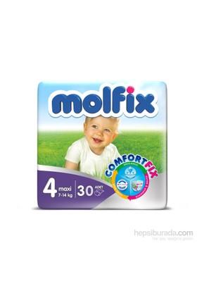 Molfix Bebek Bezi Comfort Fix İkiz Paket 4 Beden 30 Adet