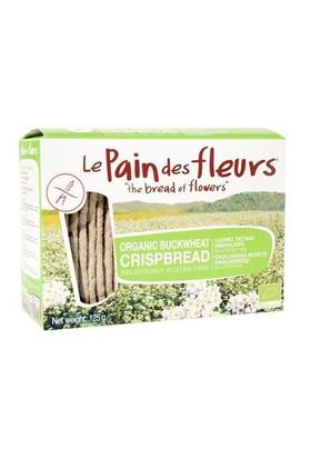 Le Pain Des Fleurs Organik Glutensiz Diyet Karabuğdaylı Kraker 125 Gr