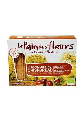 Le Pain Des Fleurs Organik Glutensiz Diyet Kestaneli Kraker 125 Gr