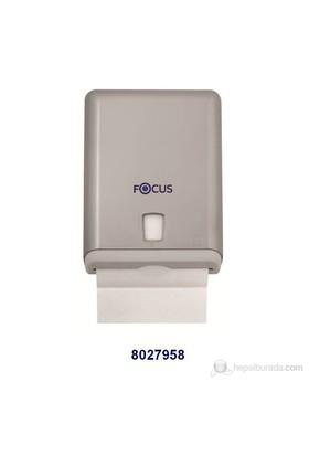 Focus Z Katlı Havlu Dispenseri - Metalik ( Koli İçi 6 'lı )