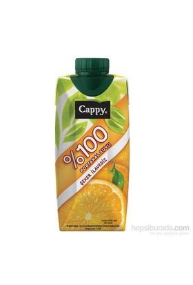 Cappy 100 Portakal Meyve Suyu 330 Ml