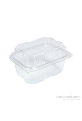KullanAtMarket Plastik Sızdırmaz Kap (Peynir Kabı) 500 Gr 100 Adet
