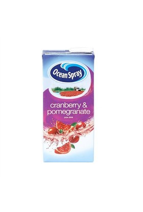 Ocean Spray Cranberry Pomegranate Tetrapak 1Lt